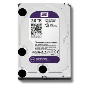 """Western Digital Desktop HDD 2TB 3.5"""" SATA Purple in Bangladesh"""
