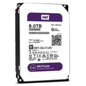 "Western Digital WD80PUZX Hard Disk 8TB 3.5"" PURPLE HDD Price in bd"
