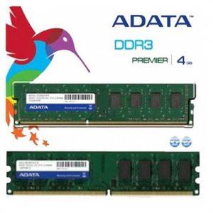 ADATA 4GB RAM DDR3 1600 BUS