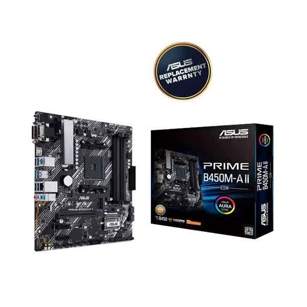 ASUS PRIME B450M-A II Motherboard
